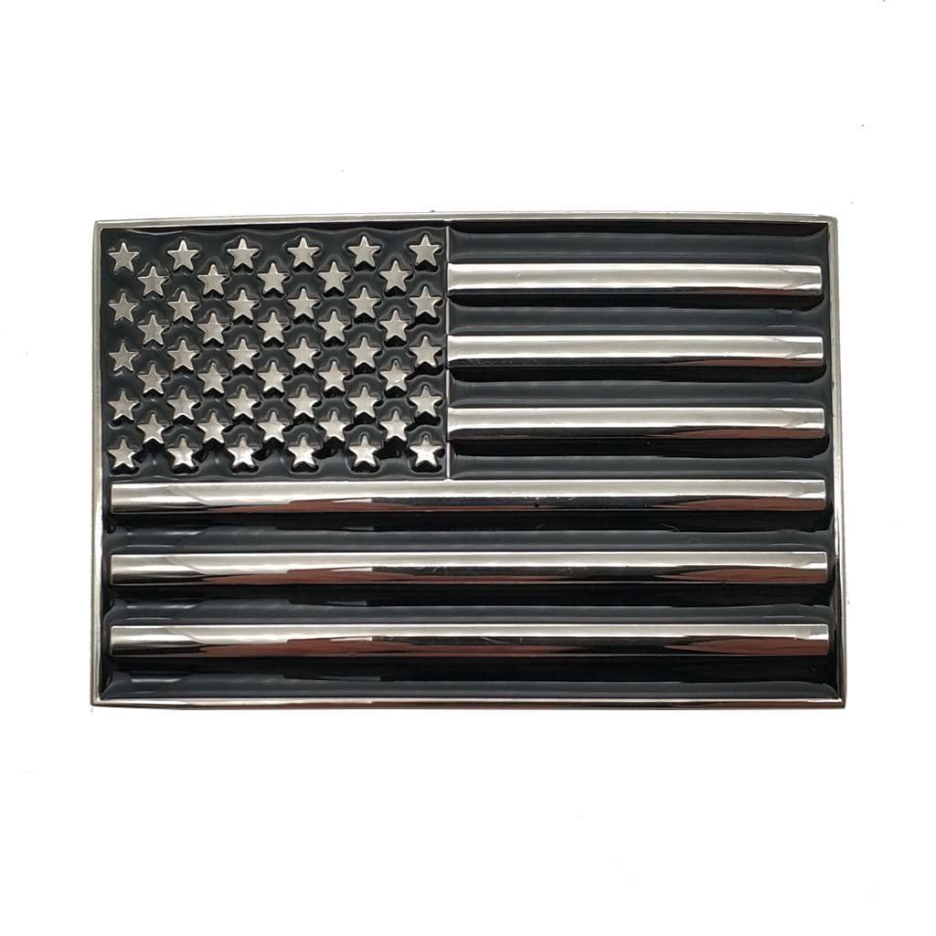 American Flag USA Belt Buckle 1-ONE
