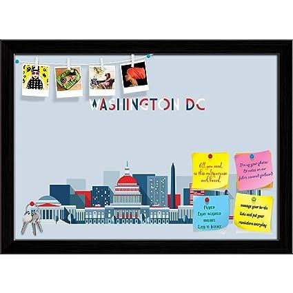 Amazon com : ArtzFolio Washington Skyline City Skyscraper