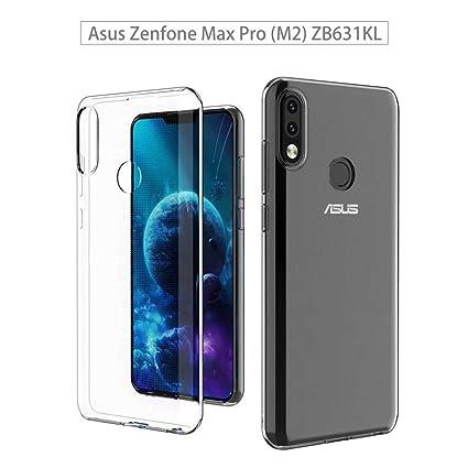 ZRICKIE Funda ASUS Zenfone MAX Pro M2 Carcasa Silicona ...