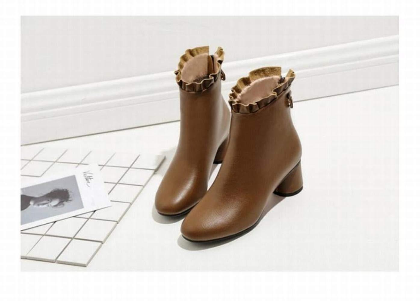 3f118dfdc7068b xdx des chaussures de femme femme femme automne et hiver fashion épais avec  des bottines / bottes ...