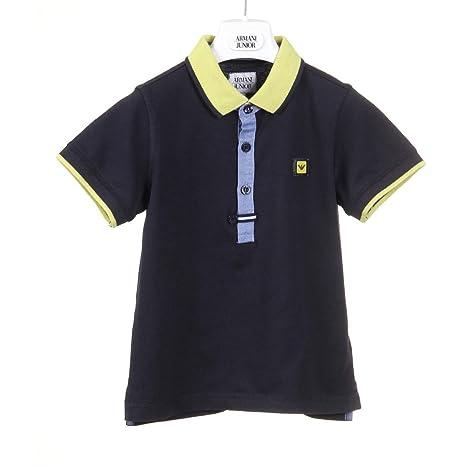 Armani Junior Polo niño Boys Polo - Blue Azul Turquesa 5A - 5 ...