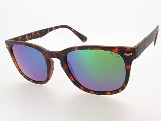 25e500ecce67c Óculos de Sol Nautica N3609sp 237 54 Tartaruga Fosco Escuro  Amazon ...