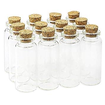Amazon.com: BESSEEK Tapones de Corcho Botellas de Vidrio DIY ...