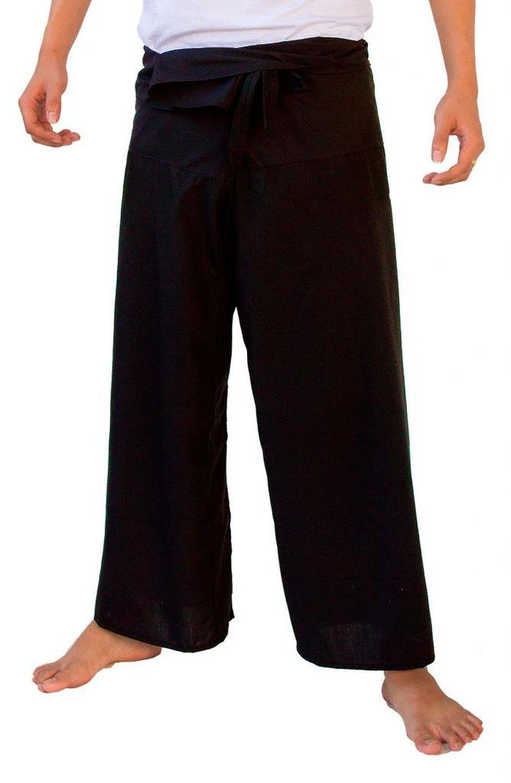 UNISEX THAI MASSAGE PANTS THI FISHERMAN PANTS YOGA SUMMER BEACH PANTS (FINE COTTON)