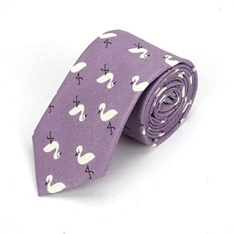 Zjuki corbata Corbatas de Dibujos Animados para Hombres Estampado ...