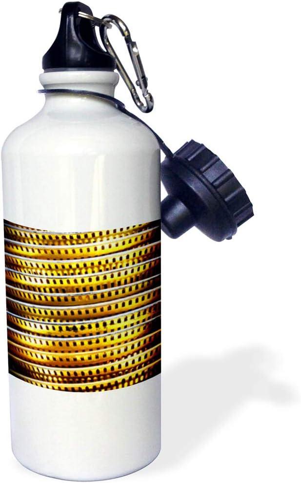 3dRose wb/_291044/_1 Water Bottle 21oz White
