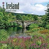 Ireland 2018 7 x 7 Inch Monthly Mini Wall Calendar, Scenic Travel Dublin Irish