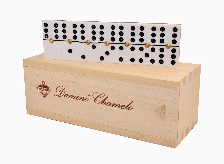 Bo/îte en Bois Espagne Qualit/é maximale Industrias Galaico Domino Chamelo Professionnel Manufacture Valenciana
