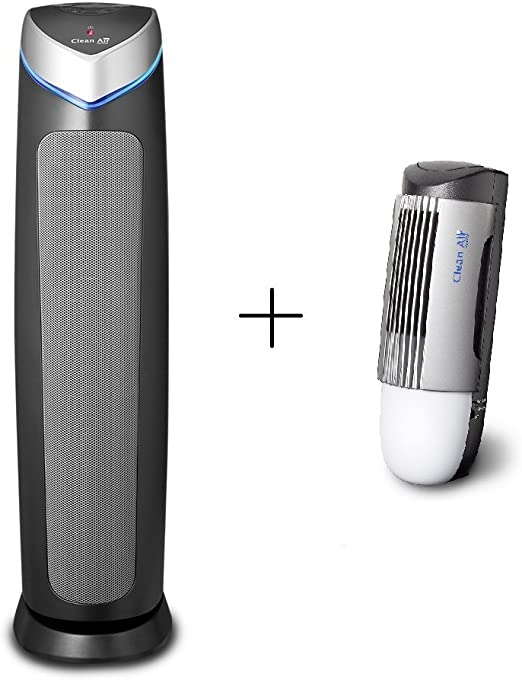 Ionizador purificador de aire HEPA UV CA-508 + diseño ionizador ...