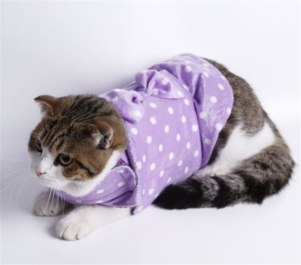 YAAGLE Pet Adjustable Stress Relief Anxiety Jacket