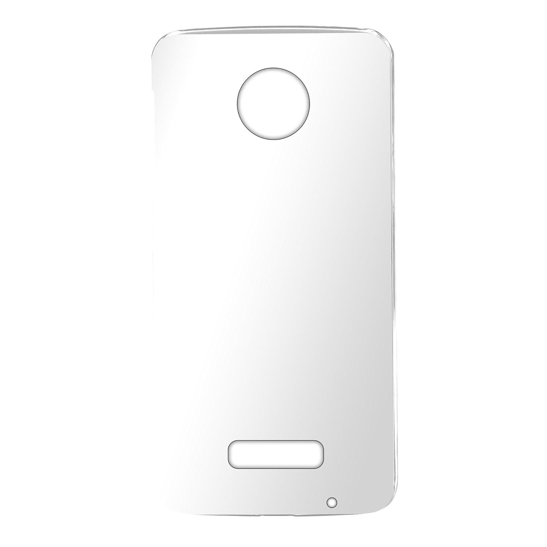 5e29ce0986 Amazon | ホワイトナッツ Moto Z XT1650 ケース クリア TPU ソフト スマホケース wn-0682357-wy | ケース・カバー  通販