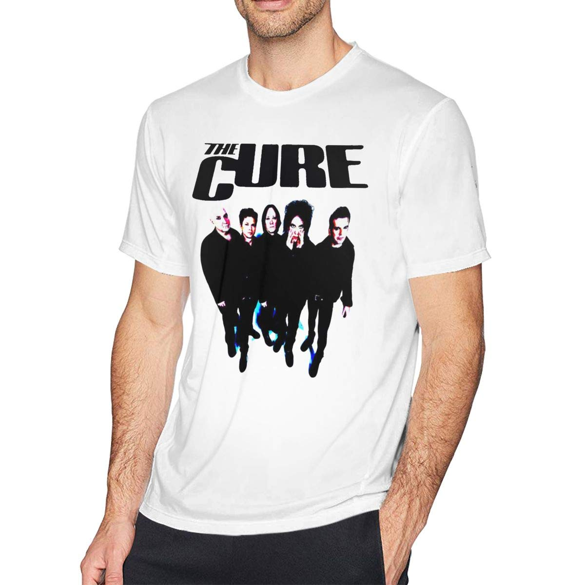 Mens The Live Cure Tee T-Shirt Black