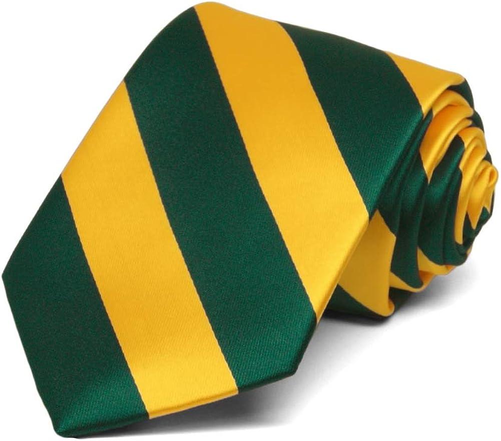 TieMart Boys Hunter Green Premium Bow Tie