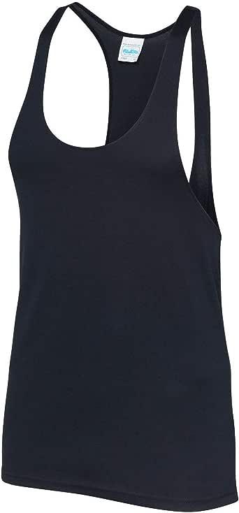 AWDis Just Cool Mens Plain Muscle Sports/Gym Vest Top