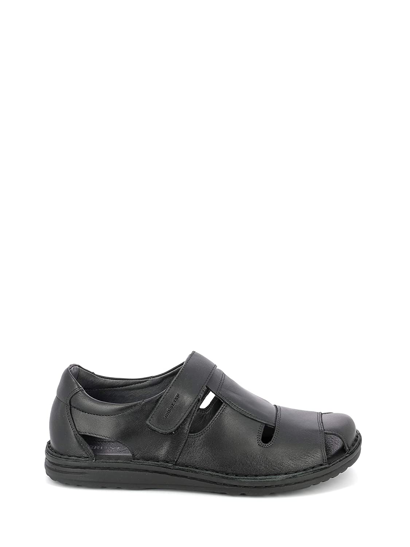black Grunland SA1515 Sandals Man
