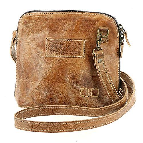 Handbag Tan Mason or Clutch Leather Bed Stu Crossbody Ventura nw8qxqtX0