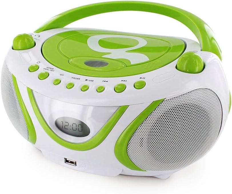 Metronic Gulli Radio Tragbarer Cd Mp3 Player Für Kinder Mit Usb Port Audio Hifi