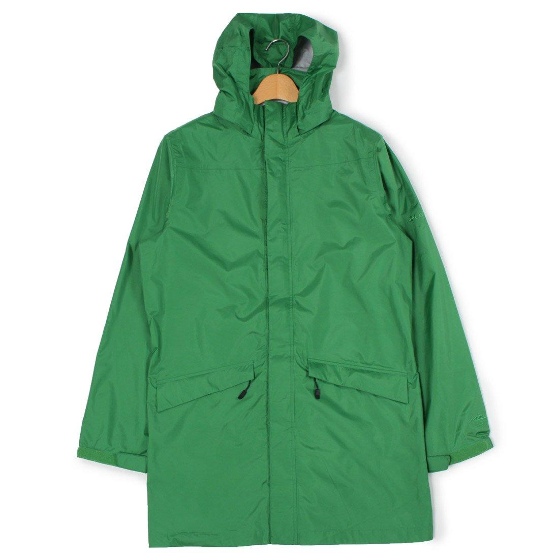 (コロンビア)COLUMBIA レインコート ウィンズレイクランドジャケット PM5986 メンズ B01FJ32O0G S|05.ミディアムグリーン 05.ミディアムグリーン S