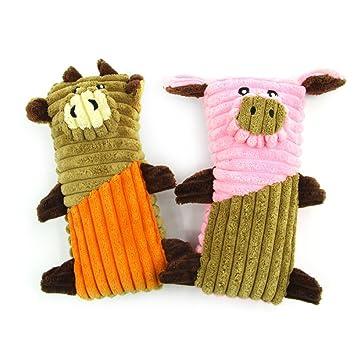 Yiwuhu Interacción El Ganado Mascota Juguetes de Peluche de Juguete de sondeo Plaza Cerdo mordedura de