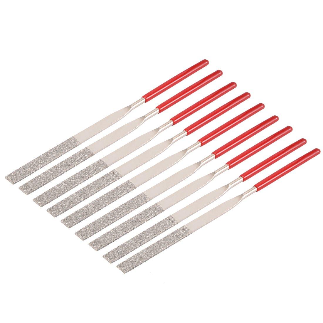 a18031700ux0220 Sourcingmap 10/PCS 4/mm x 160/mm Dreieck Diamant-Nadelfeile K/örnung 150