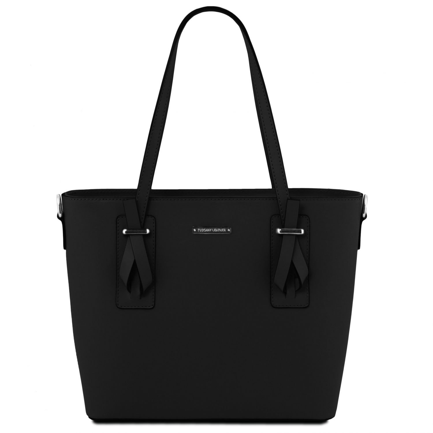 Tuscany Leather Afrodite Leather tote Black