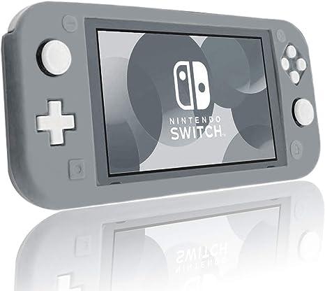 Funda protectora de silicona Chinsion para Nintendo Switch Lite Protector de pantalla, Gris: Amazon.es: Videojuegos