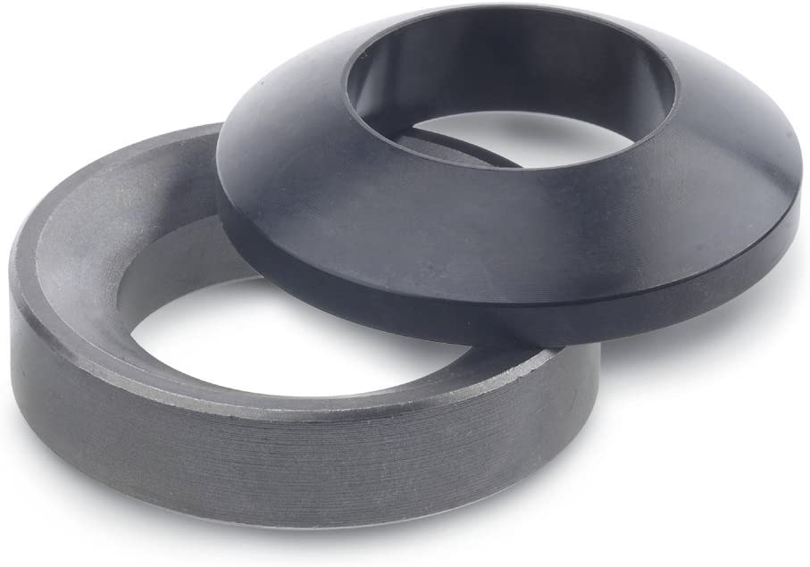 Ganter Standard Elements / DIN 6319/ | Tray Steel//Pack of 1 DIN 6319-49-D Ball Washer and Pan/  Black