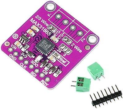 Convertitore di resistenza RTD MAX31865 per sensore di temperatura pt100 pt1000