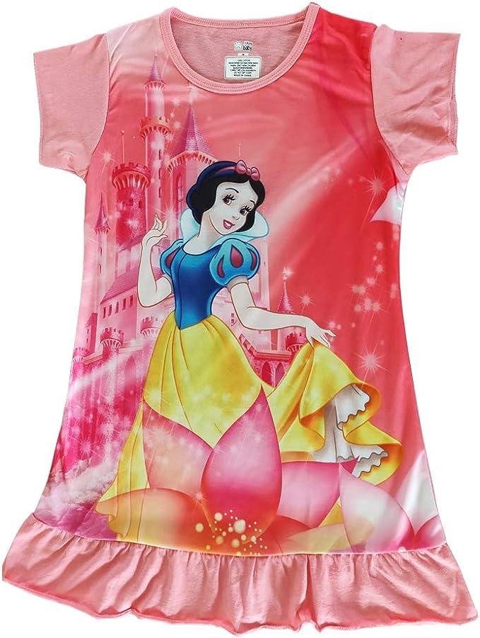 Textiel Trade Walt Disney Princess Pink Official Childrens Tee T-Shirt Girls Kids