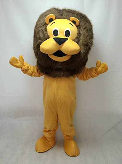 8826199c6 Amazon.com : Cute New King Lion Mascot Costume : Sports & Outdoors
