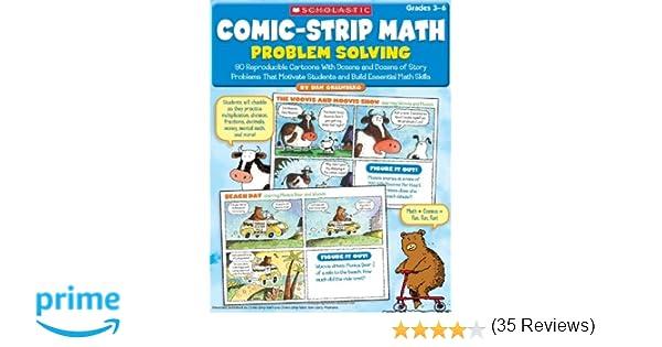 Amazon.com: Comic-Strip Math: Problem Solving: 80 Reproducible ...