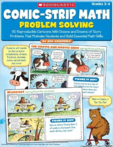 Amazon.com: Comic-Strip Math: Problem Solving: 80 Reproducible ...