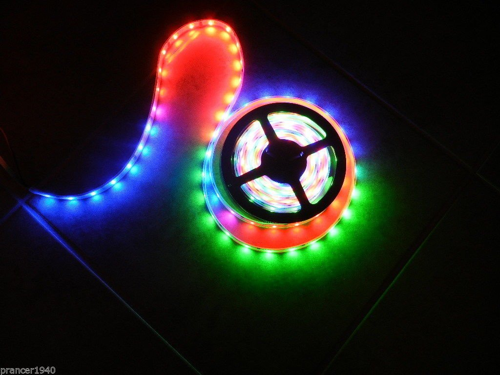 Amazon.com  New 12V LED Crazy Lights 20 Meters 66.6 Feet - Tape Rope  Lighting - Chasing 4 Rolls Complete System by MBKP International   Industrial   ... 7b2757ee5