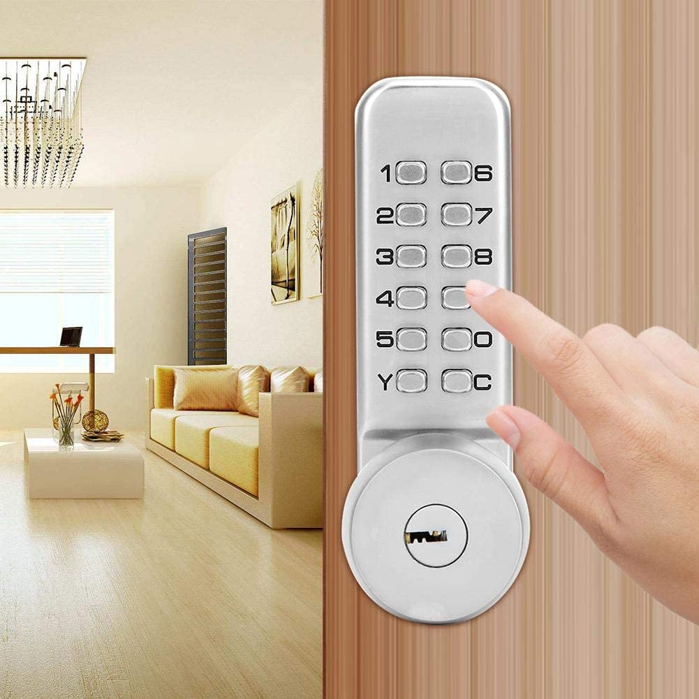 1-11 Digit Combination Lock Safe And Durable Home Security Lock Accurate Interior Doors for Home Villas Office Composite Doors Keyless Entry