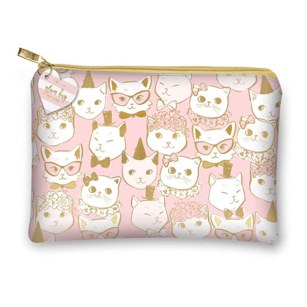 Lady Jayne 85883 Glam Bag Fancy Cats Gold Foil None