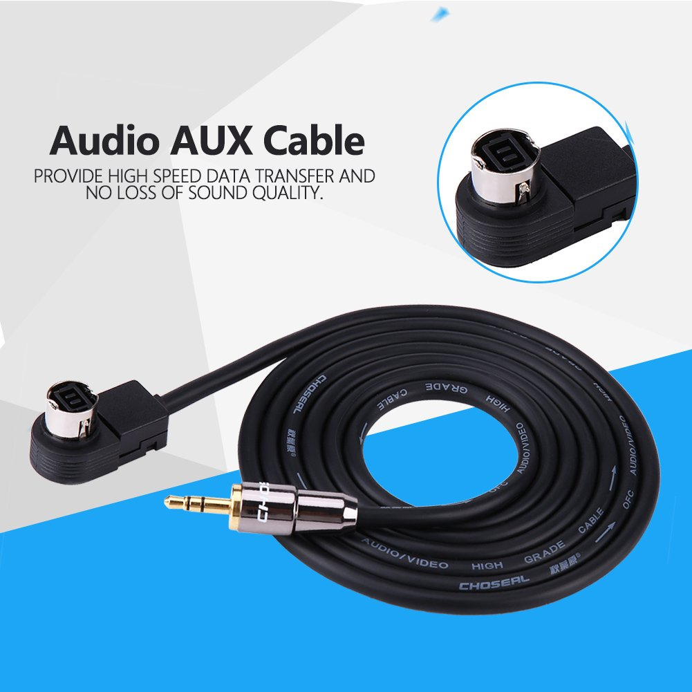 Aux Cable Ai-net Adapter Car Audio Player Interface Adapter Aux-in Audio Cable Adapter for JVC//Alpine Ai-Net CD Player