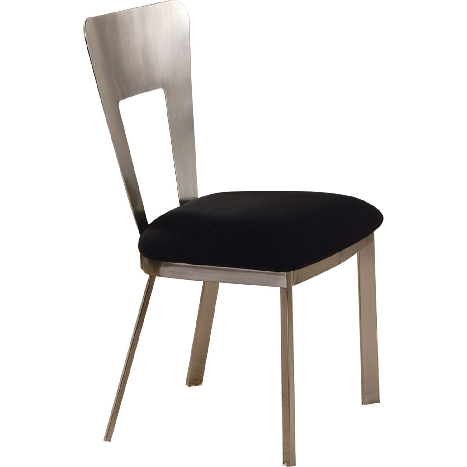 Amazon.com: Acme Camille Side Chair, acabado cromo, set de 2 ...