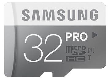 Amazon.com: Samsung 32 GB Pro de memoria microSDHC UHS-I ...