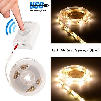 Kreema Luz de tira del sensor de movimiento de 1 m LED L¨¢mpara