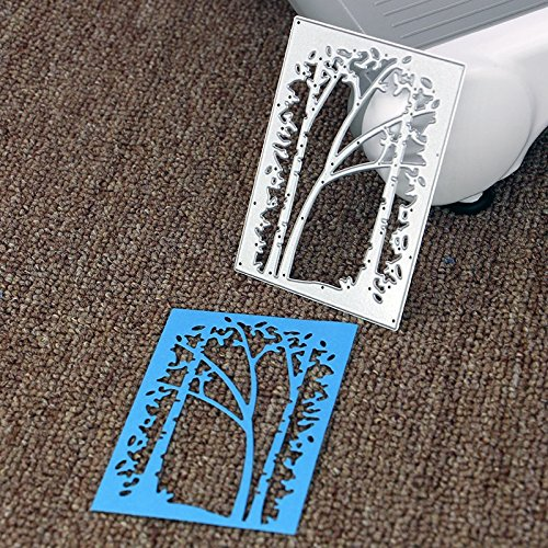 Lady Time Clearance!!Tree Metal Cutting Dies Stencil Scrapbooking Photo Paper Cards Crafts Embossing DIY by Lady Time (Image #3)