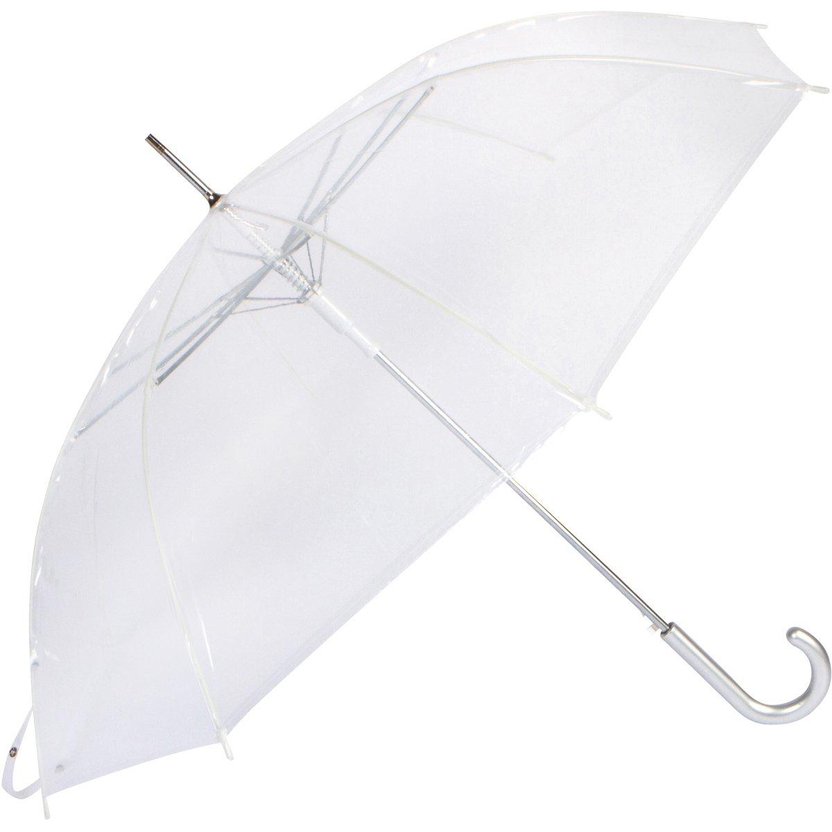 Cloak Umbrellas Auto Open Clear Umbrellas, 46'' ARC by Cloak Umbrellas (Image #2)