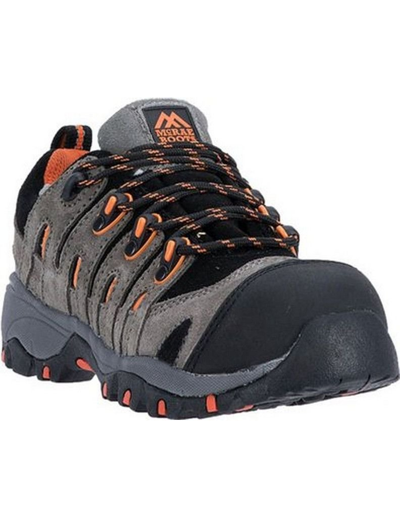 MR41309 McRae Women's Composite Toe Safety Shoes - Grey - 7.0 - W