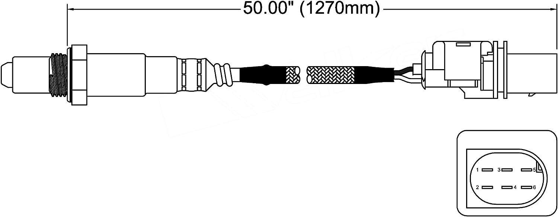 ACDelco 213-3936 Professional Heated Oxygen Sensor