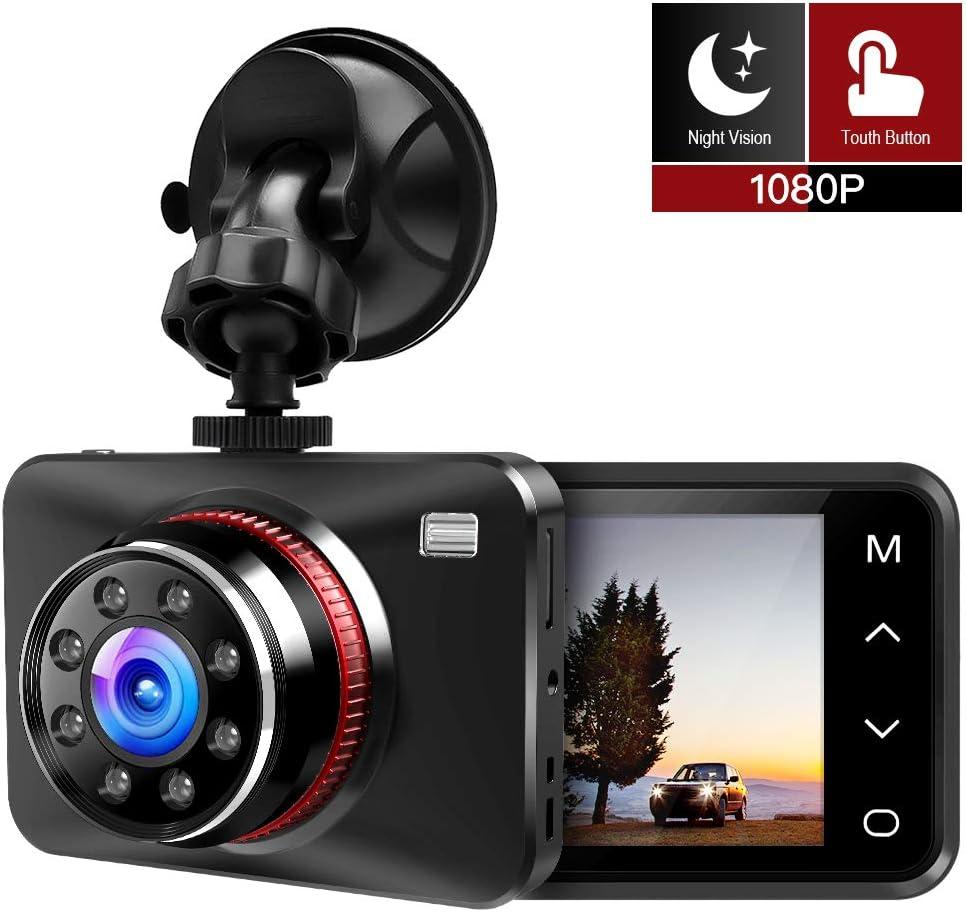 Blue 2.7/' LED Car Dash DVR Camera Recorder Video IR Night Vision WDR HD 1080P