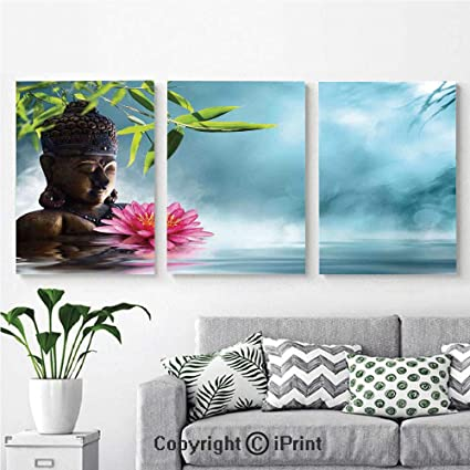Awesome Amazon Com 3Pcs Triple Decoration Painting Wall Mural Zen Download Free Architecture Designs Xerocsunscenecom