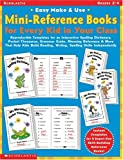 Easy Make and Use Mini-Reference Books for Every Kid in Your Class, Lisa Blau, 0439222516
