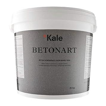 Kalekim Betonart B183 Hellgrau Spachtelmasse Mit Betonoptik 25kg