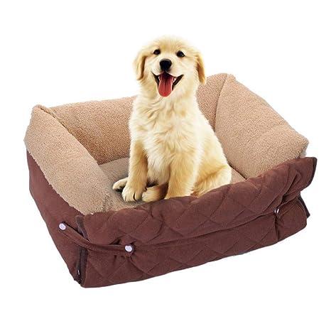 IrahdBowen Cojín De Cama para La Casa del Perro. Cama Kennel Nest - Sofá Relleno