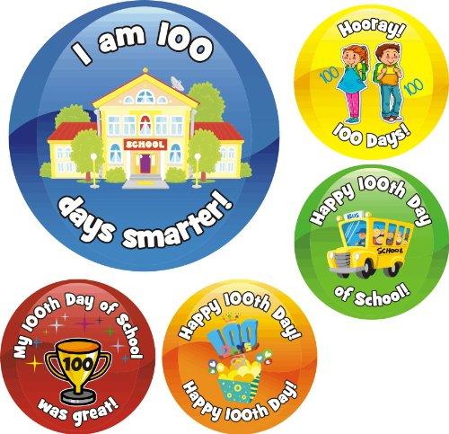 ol Reward Praise Stickers Teacher Parents Children (100th Day Of School Stickers)