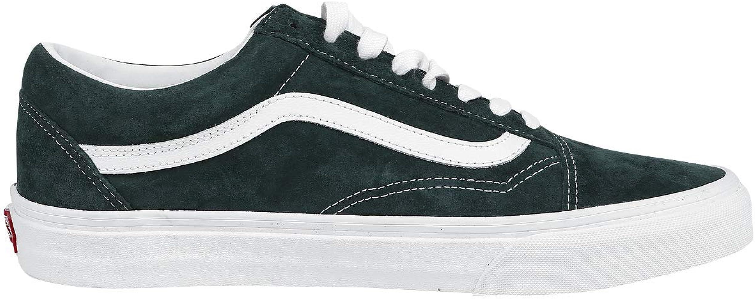Vans Old Skool Sneaker dunkelgrün EU47: : Schuhe